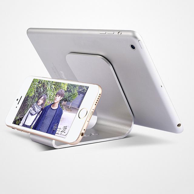 Nuevo y único para la manzana de oro para ipad/aire ablet ordenador con nanotecnología de aleación ligera de aluminio de escritorio soporte de tablet pc stands