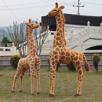 Fancytrader Hot Item! 1 pc 47'' / 120cm Giant Cute Stuffed Plush Simulated Giraffe Toy, Good Gift, Free Shipping FT50619