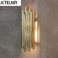 Brief personality vintage bar counter water pipe wall lamp led up and down wall light industrial wall sconces