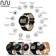Newwear Q8 Color Touch Screen Smartwatch Touch Key IP67 Waterproof Smart Watch Men Women Sports Fitness Wearable Smart Watches