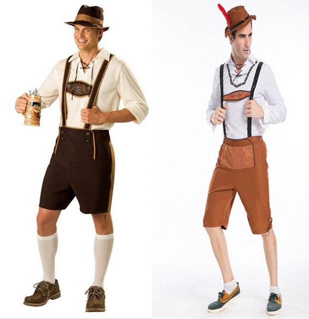 Gratis verzending, cosplay hot Duitse bier volwassen mannen beerfest ...