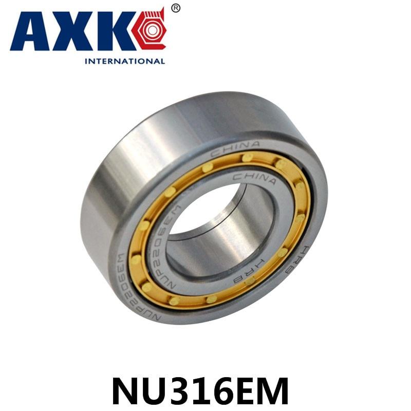 Axk Bearing Nu316em Cylindrical Roller Bearing 80*170*39mm