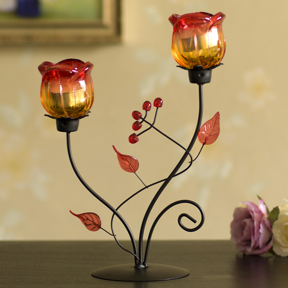 Rose Candle Holder - Best Candle 2017