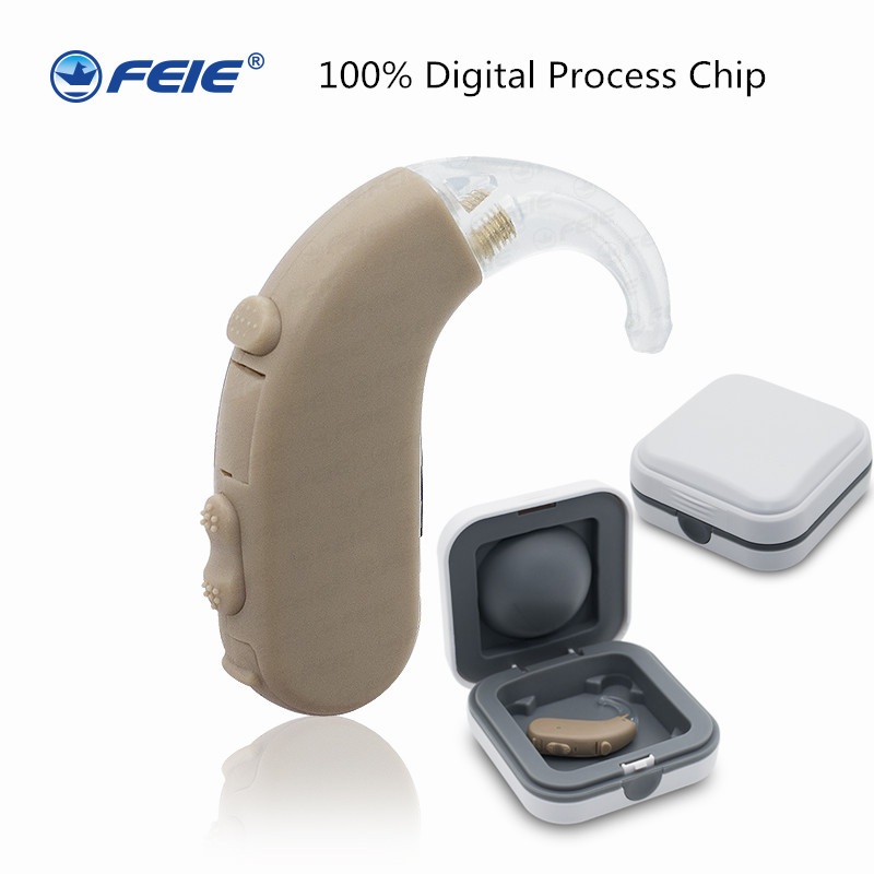 Cheap Hearing Aid S-303 Behind the Ear Headsets Like Hearing Aid siemens deafness Drop shipping free shipping hearing aids aid behind the ear sound amplifier with cheap china price s 268