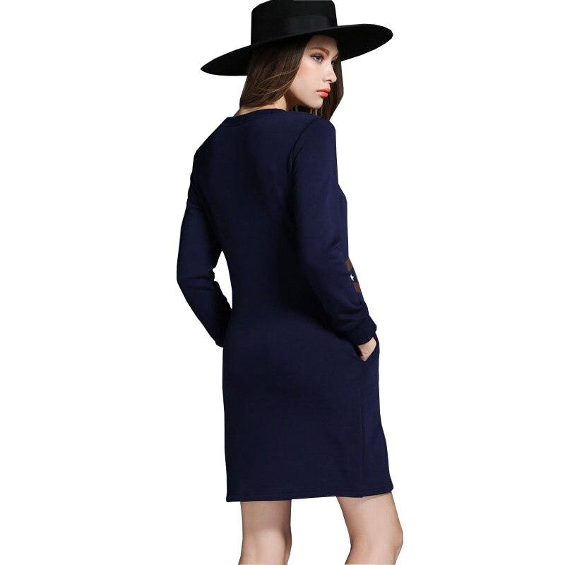 0a210702a8f6f Winter Autumn Dress New 2016 Fashion Extra thich Owl Print Women ...
