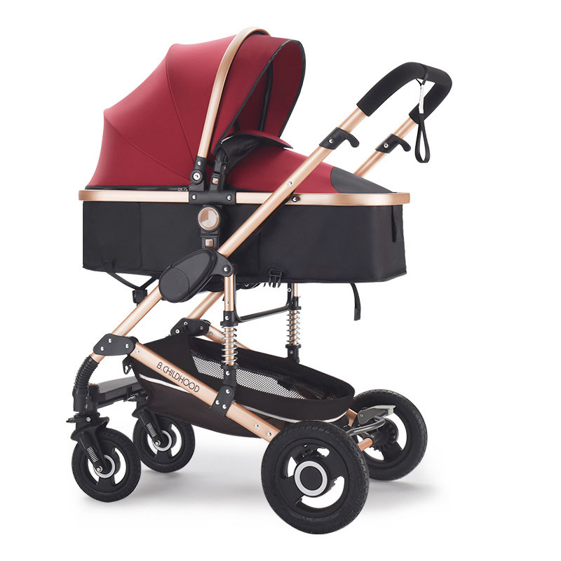 Lightweight Baby Stroller Brands Multifunctional 2 In 1 Umbrella Travel Stroller Prams For Newborns Baby Buggies High Landscapes