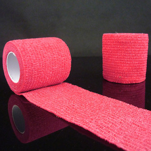 New New Self Adhesive Ankle Finger Muscles Care Elastic Medical Bandage Gauze Tape Sports Wrist Support XD88
