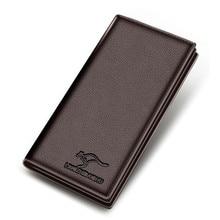 купить New wallet with coin pocket zipper men Purse Men Wallets Leather Men bags clutch bags wallet leather long koffer по цене 830.42 рублей