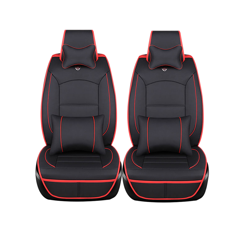 only 2 front luxury luxury leather car seat cushion cover universal for for dacia. Black Bedroom Furniture Sets. Home Design Ideas