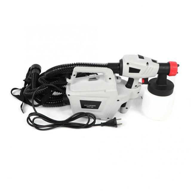 Removable High Pressure Electric Paint Spray Gun Painting Machine DE Plug(16A 4.8mm) 220-240V
