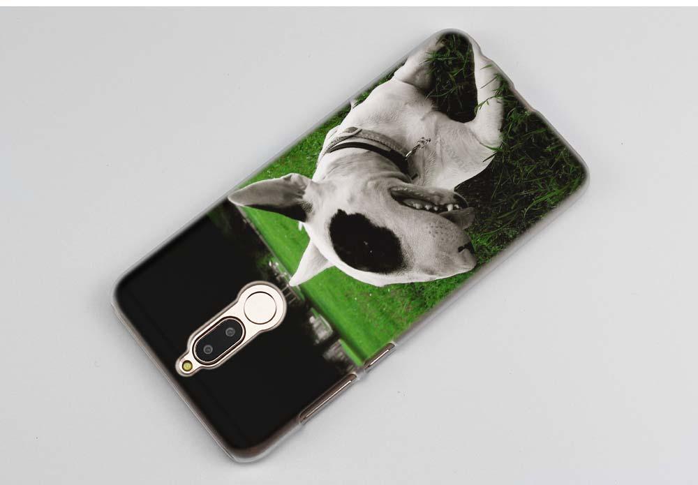 BINYEAE bullterrier bull terrier Hard Clear Case Cover for Huawei Mate 10 P8 P9 Lite Y5 II Y6 Y3 2017 Mini Honor 9
