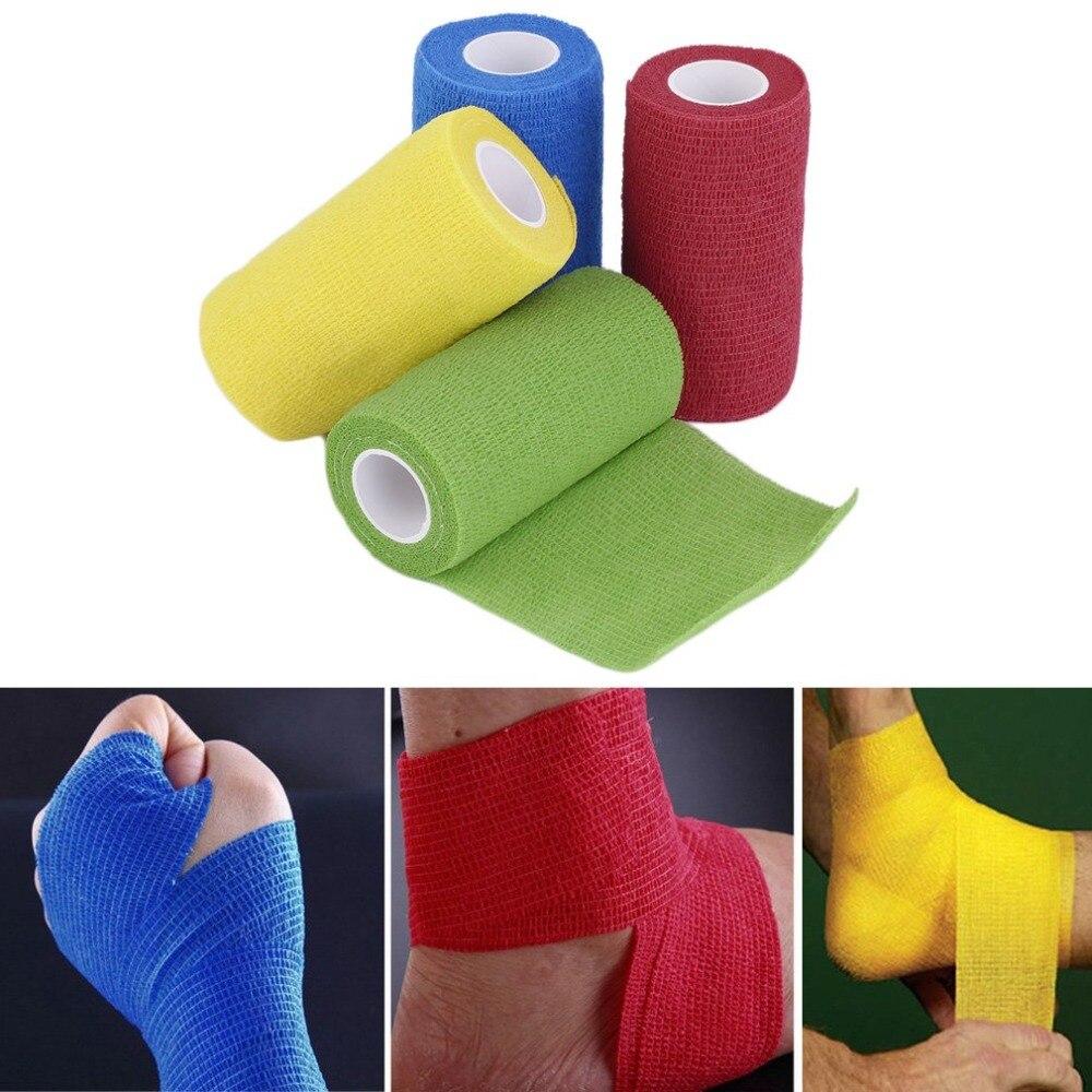 Schönheit & Gesundheit Mode Selbst-einhaltung Bandage Wraps Elastische Erste Hilfe Band Stretch 4,5 Mt X 10 Cm Frauen Männlichen Workout Fitness Gewicht Heben Unterstützung Ungleiche Leistung