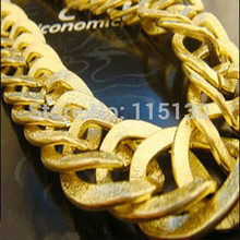 Statement Long Gold Chain Necklaces Women Plated Alloy Collar & Pendants Fashion Accessories 2015