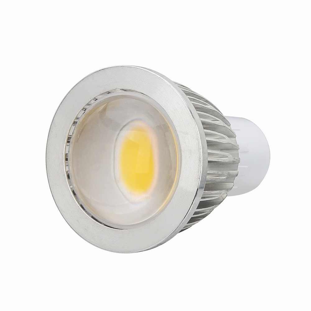 100 шт./лот светодиодный COB прожектор управляемый светодиодный светильник, 5 Вт, 7 Вт, 9 Вт, GU10/E27/E14/GU5.3 AC85-265V машина для изготовления холодного/теплый белый светодиодный свет 110 V/220 V