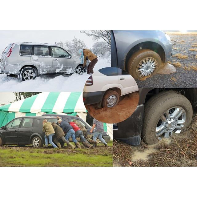 EZUNSTUCK Tire Anti-Skid Tool-RWD/AWD/4x4 SUV, Trucks, Pickup-EZ-D02ML , Sand, Snow, Ice, Better Than Traction Mat, Tire Chains 2