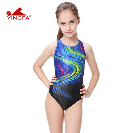 Yingfa 2016 Children One Piece Swimwear Kids Swimming