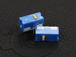 Image 2 - zf 5pcs Free shiping gold point Micro Switch Microswitch  for Mouse service life 6000W gaming micro switch DGBE FL60