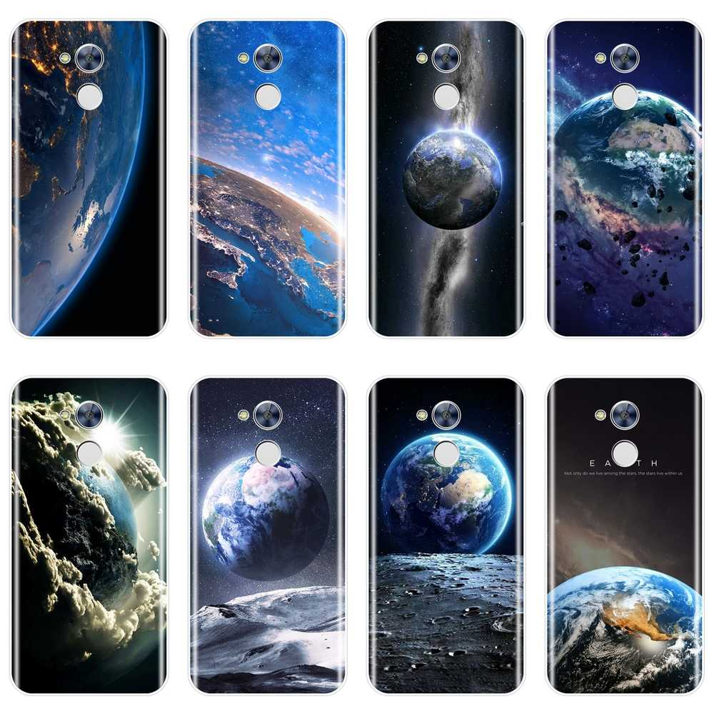 Soft Back Cover For Huawei Honor 6A 4C 5C 6C Pro Space Earth Blue Star Men Phone Case Silicone For Huawei Honor 6 5A 4X 5X 6X