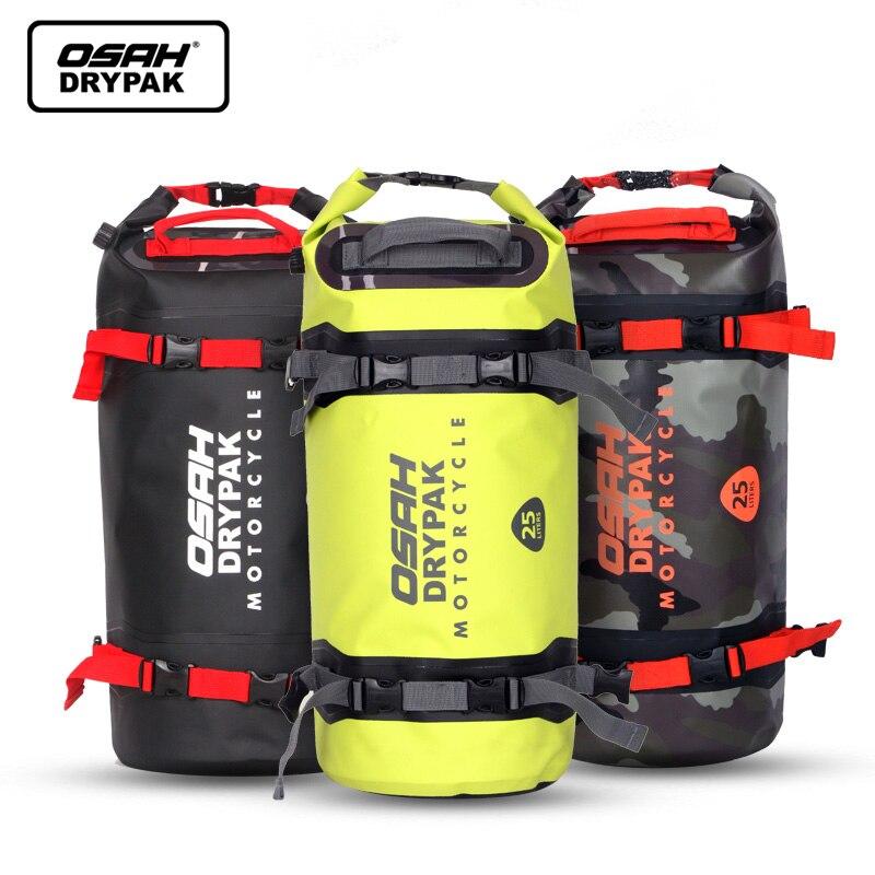 25L Waterproof Backpack Motorcycle Bag Moto Backpack Dry Bag Swimming Bag Floating Dry Sack for Sailing