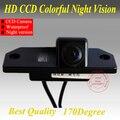 """Frete grátis CCD 1/3 """"Traseira do carro Invertendo Câmera de Estacionamento Câmera de visão Traseira Para Ford Focus (3)/2008/2010 Para O Foco (2) visão noturna"""