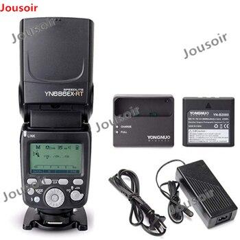 YONGNUO YN686EX-RT ETTL Speedlite Flash 2.4G Wireless HSS 1/8000s Master Flash Speedlite with Lithium battery for C CD50