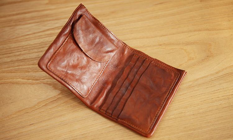 LAN men wallets distressed wallet brand handmade coin purses holders ...