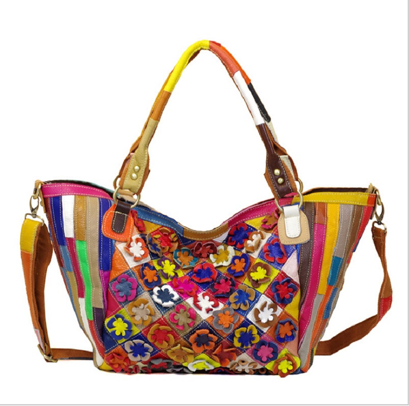 Hand Bags Women Casual Tote Hobos Bags Designer Cow Leather 2019 Woman Brand Business Handbags Patchwork Shoulder Crossbody BagsHand Bags Women Casual Tote Hobos Bags Designer Cow Leather 2019 Woman Brand Business Handbags Patchwork Shoulder Crossbody Bags