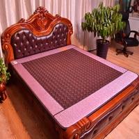 2015 Hot Sale Germanium Far Infrared Heating Jade Mattress Electric Jade Massager Bed Mattress 1 2X1