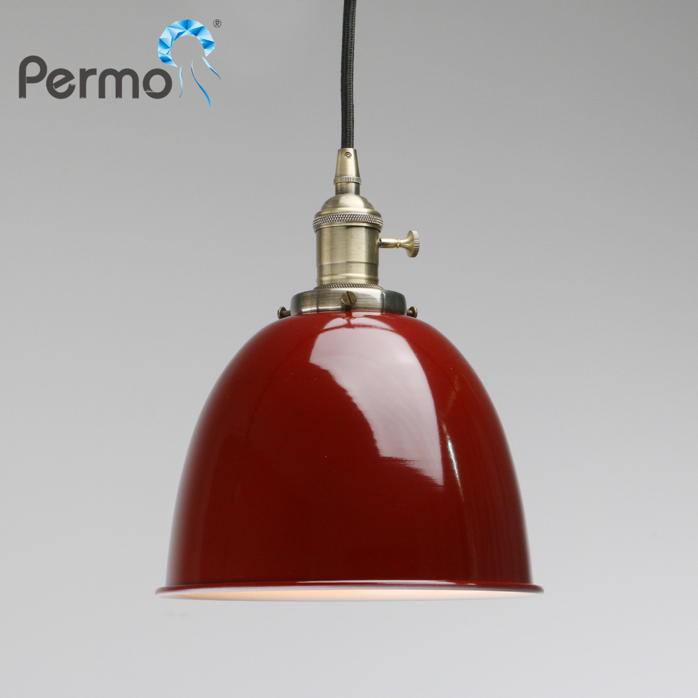 PERMO Vintage Industrial Pendant lights Metal Pendant Ceiling Lamps Modern E27 Hanglamp Luminaire Lights Fixture Bar Home Decor permo vintage rope pendant lights loft industrial pendant ceiling lamps modern hanglamp luminaire lights fixture