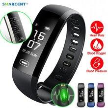 Smarcent R5MAX M2 Pro смарт-фитнес-браслет часы SmartBand интеллектуальные Дисплей крови Давление крови кислородом монитор сердечного ритма