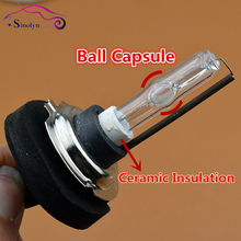CNlight Patent Ball Capsule Shape Bubble Design HID Xenon Lamps Bulbs AC 35W H1 H3 H7 9005 9006 H11 HB3 HB4 4300K 6000K 8000K