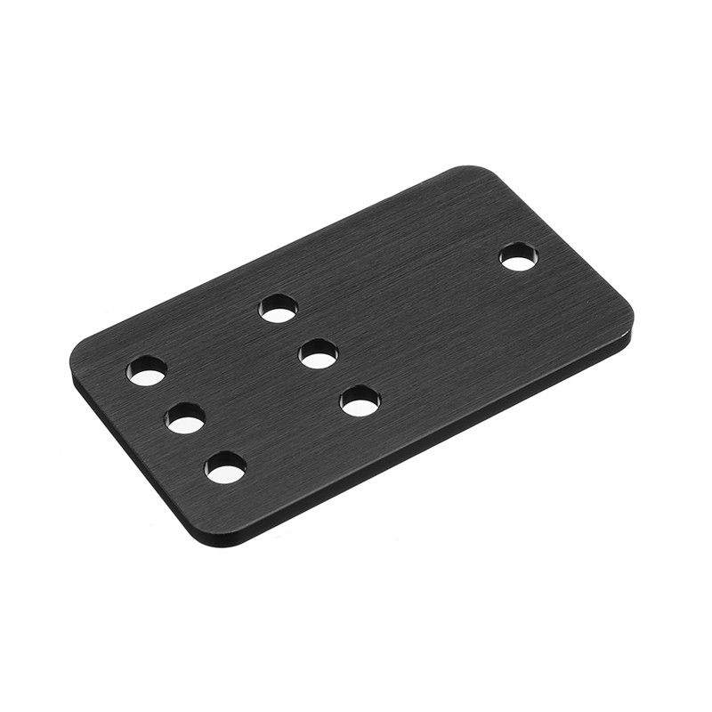 Aluminum Idler Pulley Plate Mounting Plate Pulley Board For V-Slot Linear Rail CNC Aluminum Extrusions Profiles