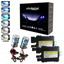 2 шт. 12 В 55 Вт Xenon H7 HID Conversion Kit H1 H3 H11 9005 лампы авто лампы фар 3000 К 4300 К 5000 К 6000 К 8000 К 12000 К