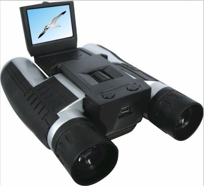 Télescope binoculaire professionnel 12x32 HD DH 1080 P caméscope numérique 2.0 ''TFT CMOS 5MP télescope caméra vidéo FS608