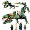 Bainily Ninjago Movie Series Flying Mecha Dragon Building Blocks Bricks Toys Model Gifts Compatible With