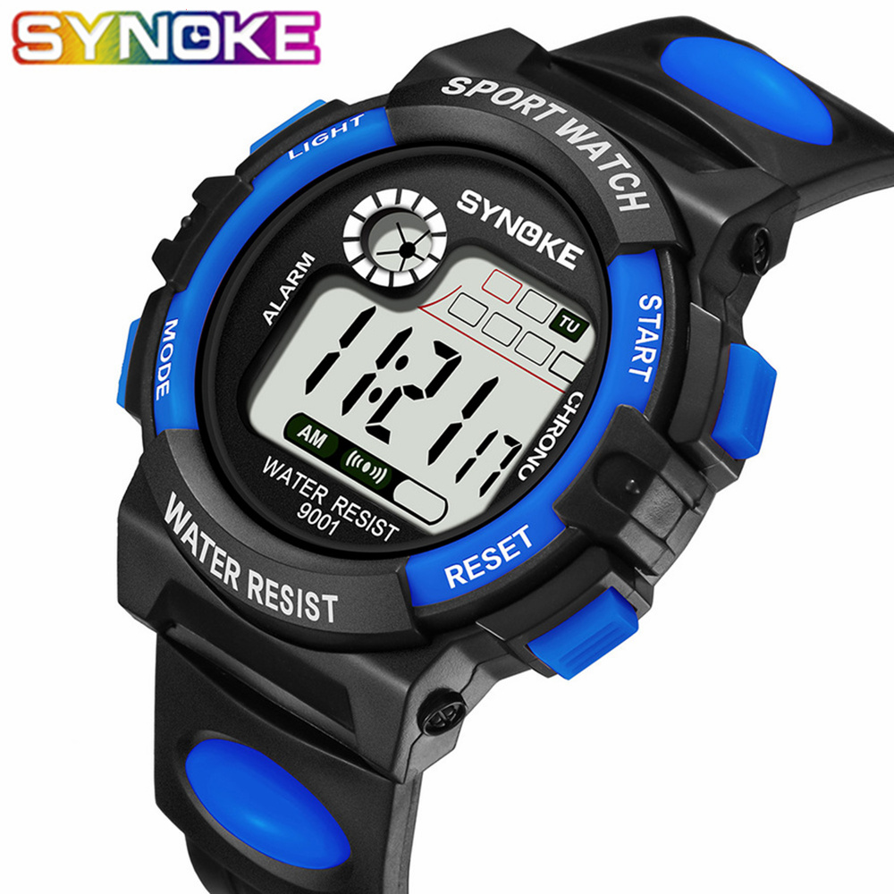 SYNOKE Sport Student Children Watch Kids Boys Girls Watches G Style Shock LED Digital Electronic Wristwatch For Boy Girl Gift