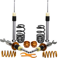 Fit AUDI A4 B6 B7 (8E) Все модели 2WD/QUATTRO HOTTUNING койловеров COILOVER комплект пружинная подвеска Strut