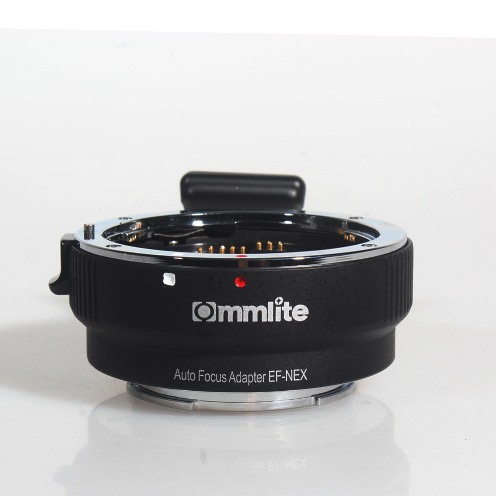 COMMLITE Auto Focus Mount Adapter EF NEX for Canon EF to Sony NEX Mount