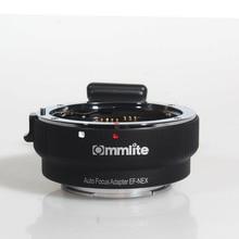Adaptateur de montage Auto Focus COMMLITE EF NEX pour monture Canon EF à Sony NEX