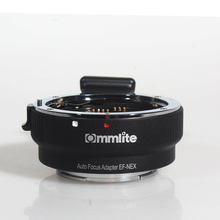 COMMLITE Adaptador de montaje de enfoque automático, EF NEX, para montura Canon EF a Sony NEX
