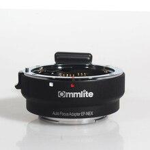 COMMLITE адаптер с автофокусом для Canon EF и Sony NEX