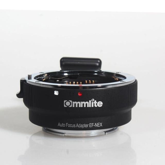 Commlite Tự Động Mount Adapter EF NEX Cho Ống Kính Canon EF Cho Sony Nex Mount