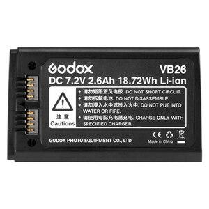 Image 2 - Godox VB26 Speedlight Flash Battery for V1 V1C V1N V1S V1F V1O V1P Speedlite Flash