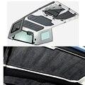 Acessórios Do Carro de boa qualidade 4 pcs Por Conjunto Kit de Isolamento de Som Deadener Hard Top Para Jeep Wrangler JK 4 PORTAS 2012 Up
