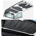 Good quality Car Accessories  4pcs Per Set Sound Deadener Hard Top Insulation Kit FoR Jeep Wrangler JK  4DOORS 2012 Up