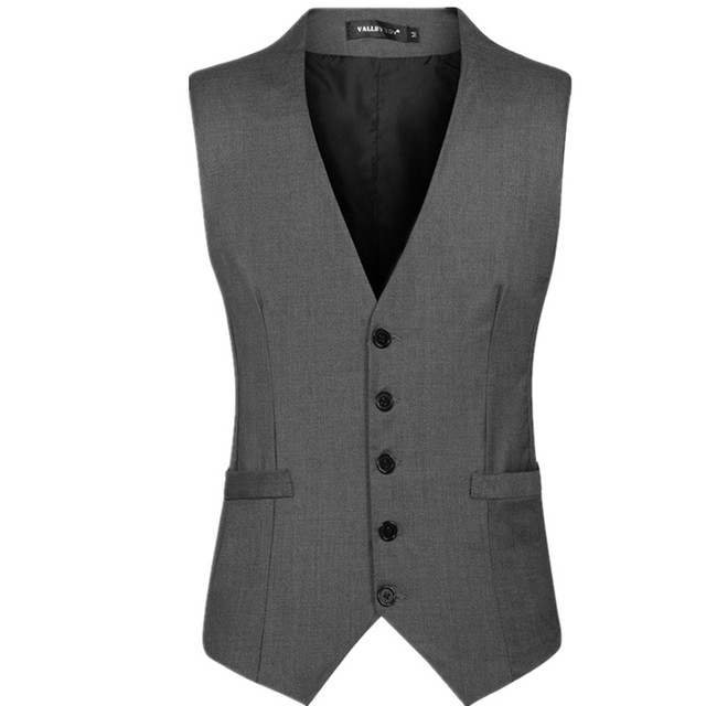 Man ma3 jia3 crime fashion cotton blended single sleeveless jacket vest men suit vest business attire