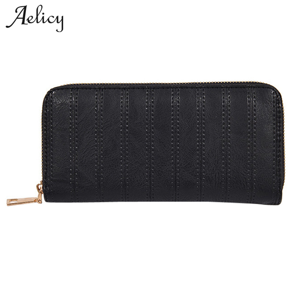Aelicy High Quality Female Fashion Wallets Women Long Design