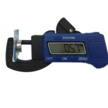 Цифровой толщиномер 0-12,7 мм, 0,01 мм, Мини ЖК-дисплей, толщиномер, штангенциркуль, композиты из углеродного волокна, инструменты для измерения ширины