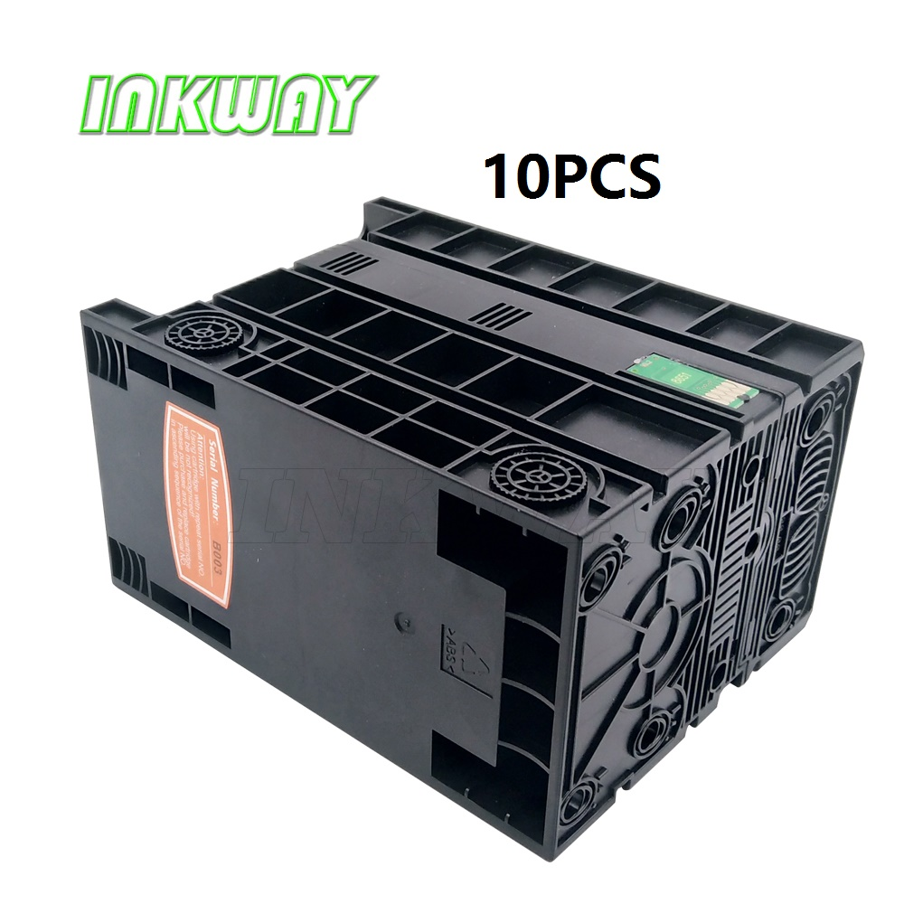 INK WAY 10pcs Full ink for Epson T8651 T8651XL for Epson WorkForce Pro WF M5190DW WF
