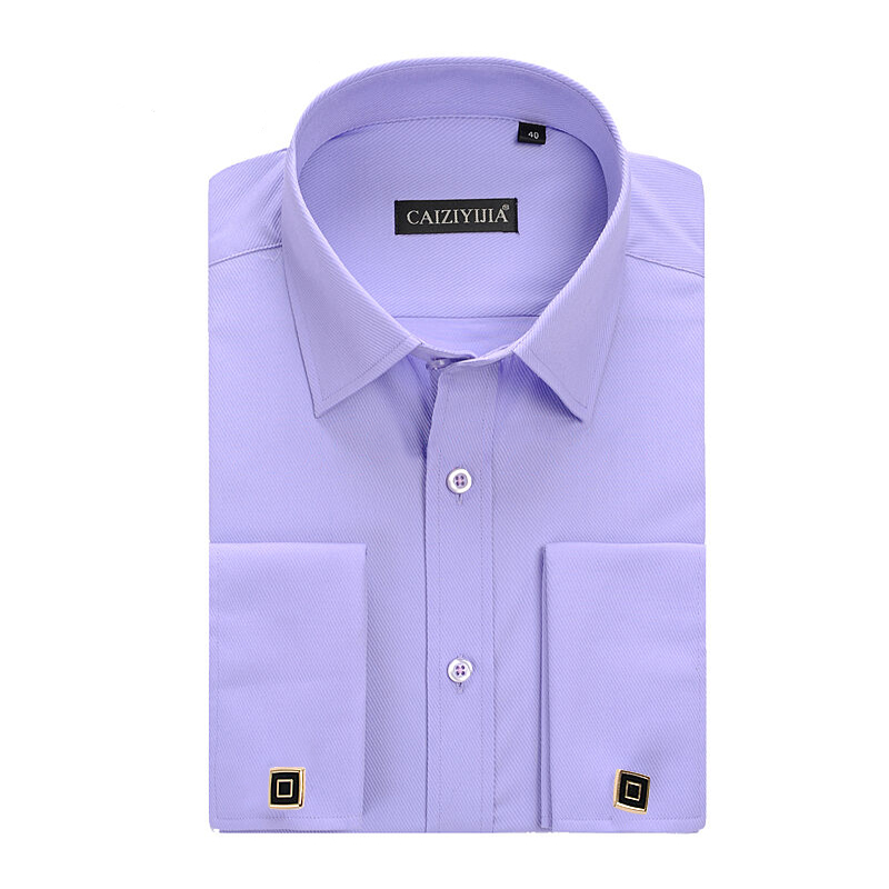 Popular Men 39 S Dress Shirt French Cuff Buy Cheap Men 39 S